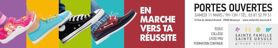 Portes ouvertes Sainte Ursule - Mars 2017